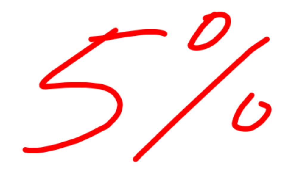 5 percent rule