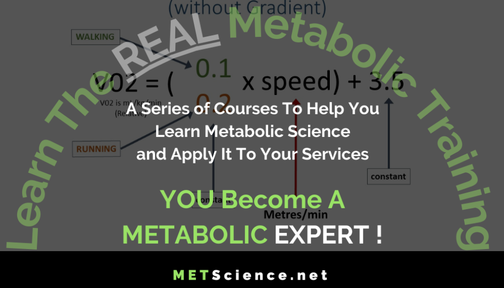 become a metabolic expert