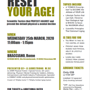 RESET YOUR AGE - Say NO To Aging