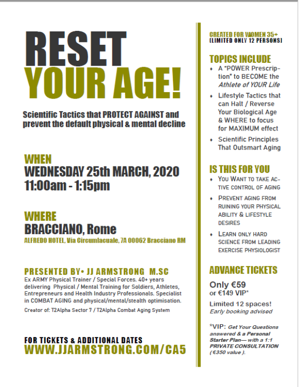 RESET YOUR AGE - Say NO To Aging (VIP)
