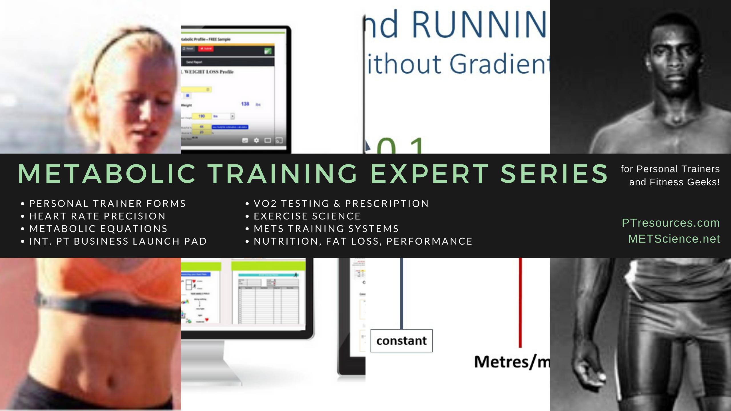 Metabolic Training Expert Series